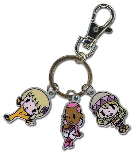 Chibi Pao-Lin, Nathan and Karina Tiger & Bunny Metal Keychain