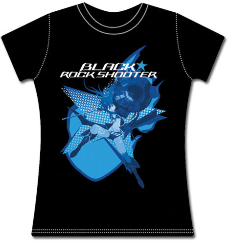 BRS2035 Black Rock Shooter Junior's T-Shirt