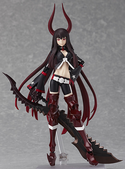 Black Gold Saw TV Animation Version Figma Black Rock Shooter Action Figure