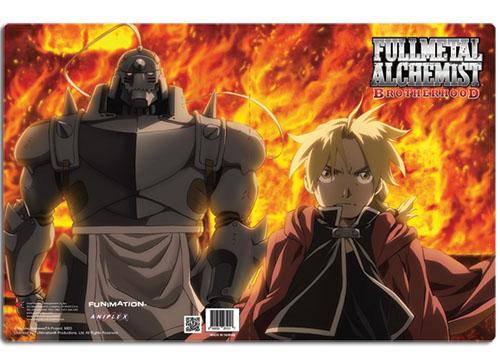 Ed & Al Fire Walk FullMetal Alchemist Brotherhood Pocket File Folder