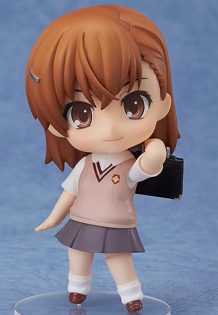 Mikoto Misaka Nendoroid Certain Magical Railgun S Figure